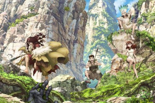 "Dr Stone 36/"" x 24/"" Large Wall Poster Print Anime Manga Video Game"