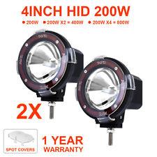 "2X 9/"" Inch 100W Hid Driving Lights Xenon Spotlight Offroad 4Wd Truck Ute 12V zE"