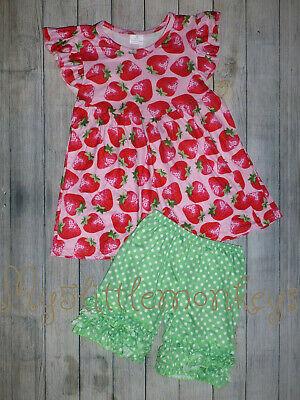 NEW Boutique Tie Dye Girls Ruffle Dress 2T 3T 4T 5-6 6-7 7-8 10-12