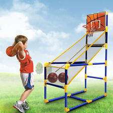 Basketball Hoop Shooting Set Ball Kids Fun Indoor Garden Backboard Net Toy