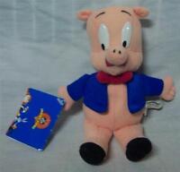 Wb Looney Tunes Porky Pig 7 Plush Stuffed Animal Toy