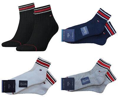 Tommy Hilfiger Sport Quarter mit Frotteesohle Herren 14 Schaft Sneaker Socken | eBay
