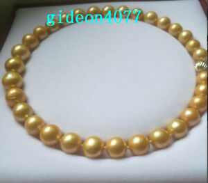 AAA-18-034-12-15M-REAL-NATURAL-SOUTH-SEA-GOLD-ROUND-Edison-PEARL-NECKLACES-14k
