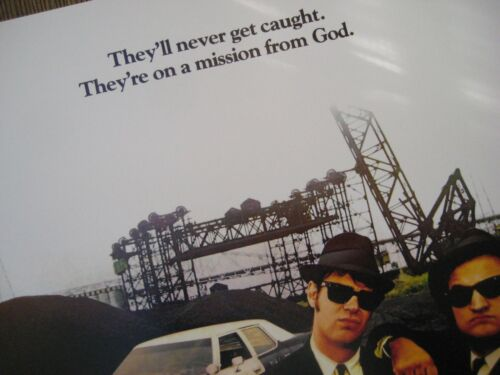 """The Blues Brothers Movie  Collector/'s Poster Print 11/"""" x 17/"""" B2G1F"""