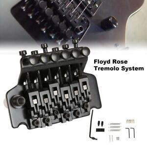 Floyd-Rose-Double-Locking-Tremolo-System-Bridge-for-Electric-Guitar-Parts-Black