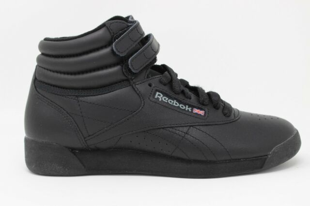 4b64c391bc54fa Reebok Women s Freestyle Hi Walking Shoe Black 8 M US for sale ...