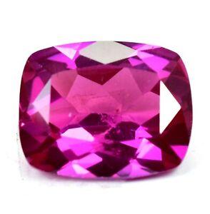 AAA+22.40 Ct Natural Pink Pyrope Garnet AGSL Certified Cushion STUNNING Gemstone