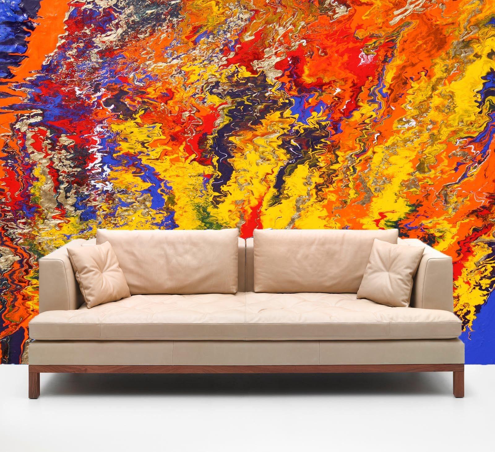 3D Mush Up Painting 48 Wall Paper Wall Print Decal Wall AJ WALLPAPER CA