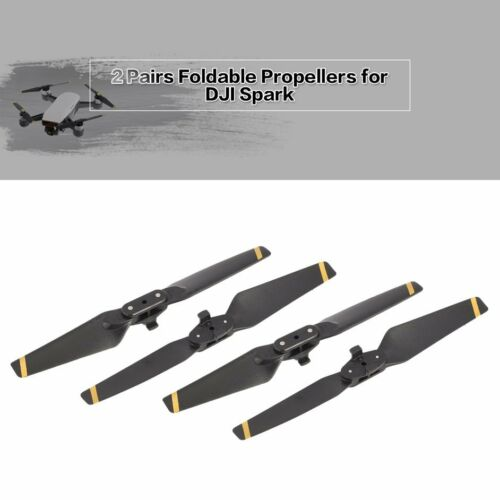 2Pairs Foldable CW CCW Propellers Replacement Blade Props for DJI Spark Drone mp