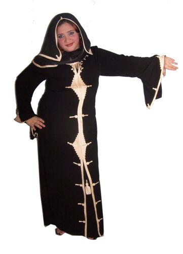 Con Islamico Dubai In Velo Festa Eingenähten Vestito Stile Aby00316 Abaya Da 07Exaqgw