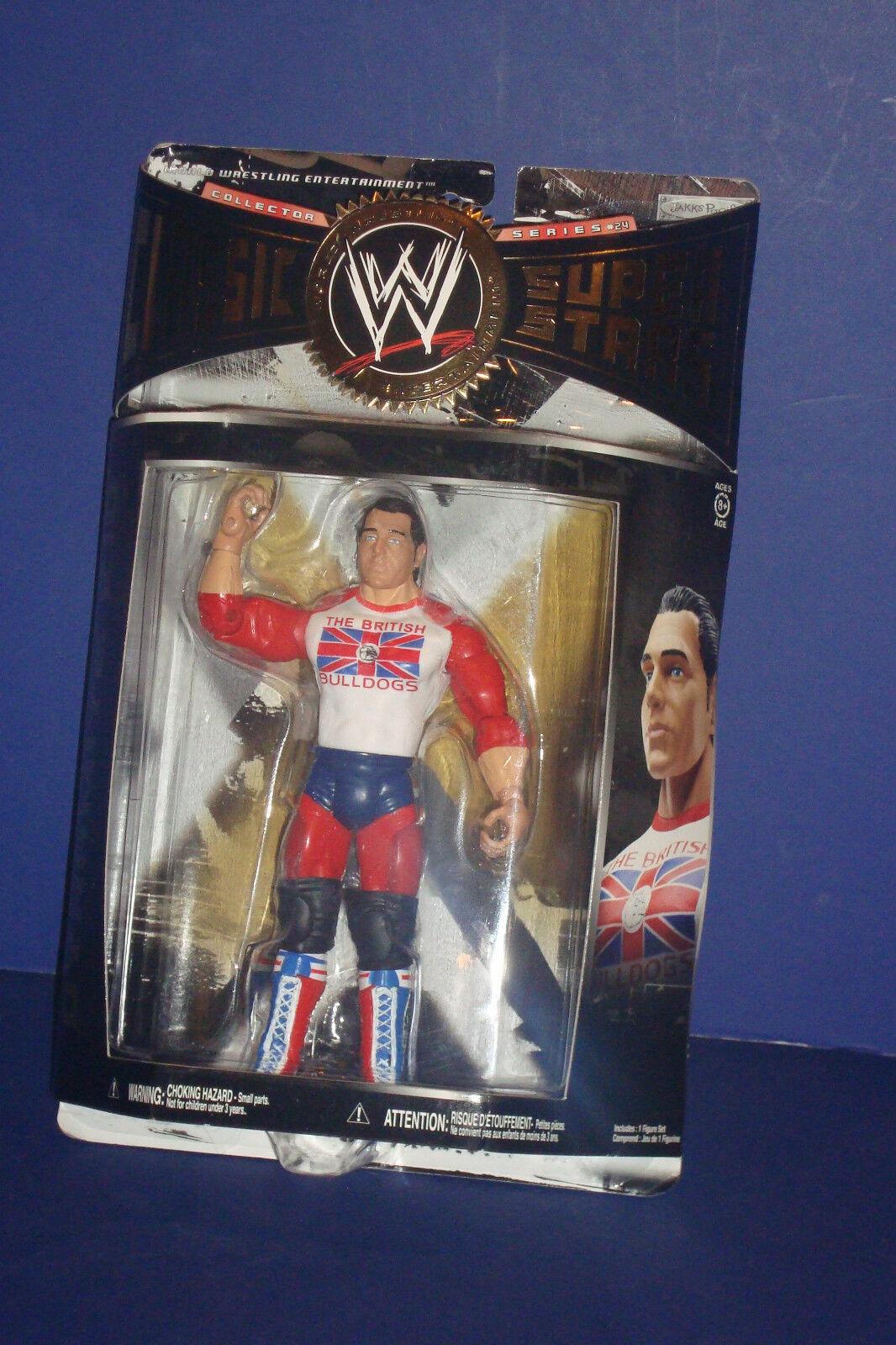 WWE Classic Super Super Super Stars British Bulldogs  dynamite kid  2009 Action Figurine NEW ec630e