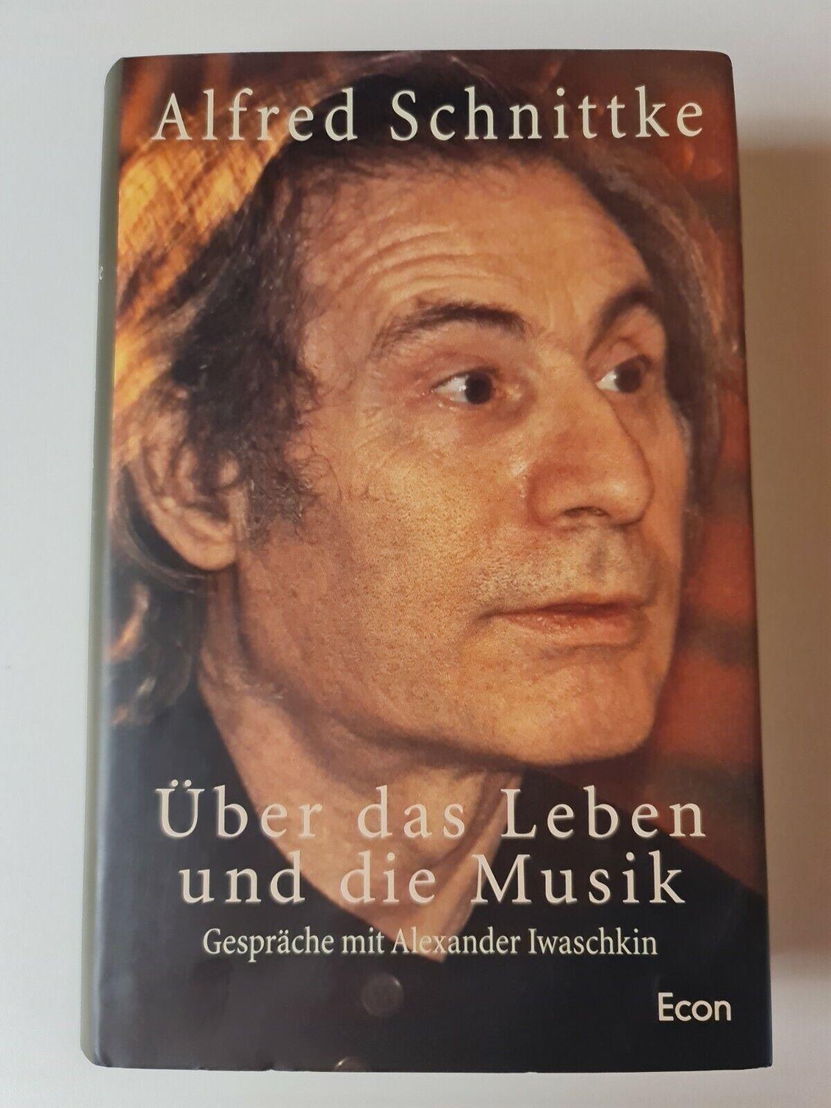 Über das Leben und die Musik / Alfred Schnittke / Econ Verlag / Buch - Alfred Schnittke