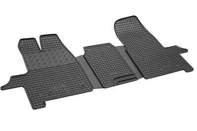 Gummifußmatten für Ford Tourneo Custom 8-Sitzer 2+3+3 2012-2018 Passgenau