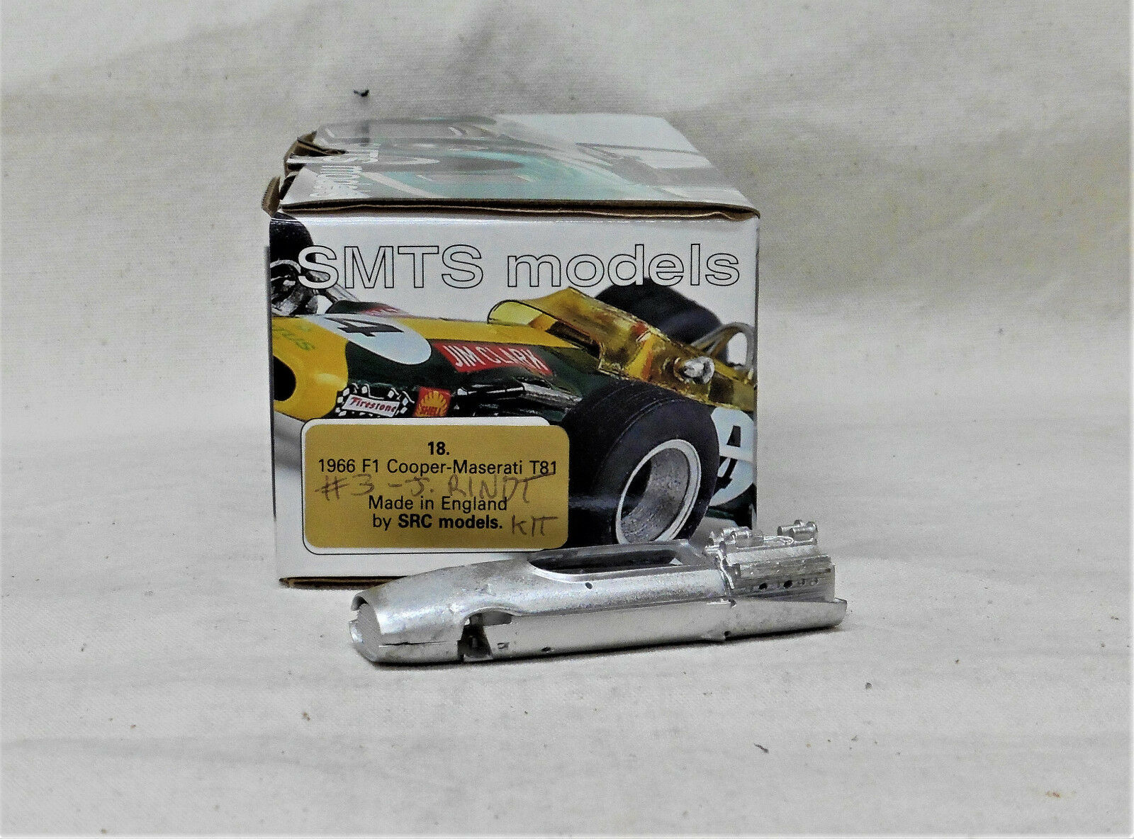 1 43 SRC18K 1966 F1 COOPER MASERATI T81 RINDT S African GP KIT BY SMTS