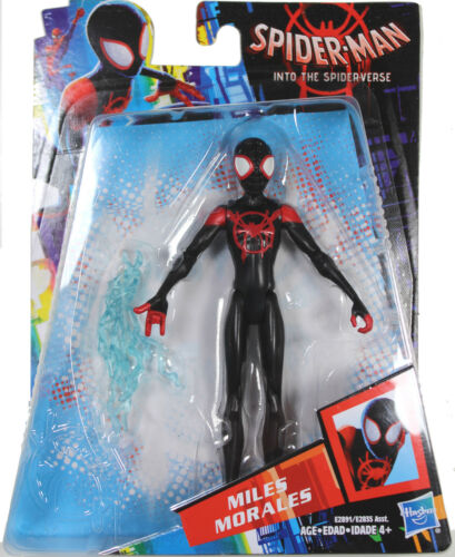 """Spider-Man Into the Spider-Verse ~ 6/"""" SPIDER-MAN ACTION FIGURE MILES MORALES"""