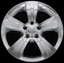 "4 CHROME 2010 2011 2012 Dodge CALIBER 17"" Wheel Skins Hub Caps Alloy Rim Covers"