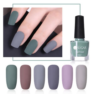 Image Is Loading Ur Sugar Matte Nail Art Polish Pure Color
