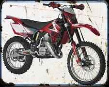 Gas Gas Ec 125 08 A4 Metal Sign Motorbike Vintage Aged
