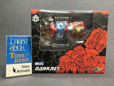 52Toys BEASTBOX 8cm BB-12 Dark Tranquility Mini PVC Figure Collectible Dolls