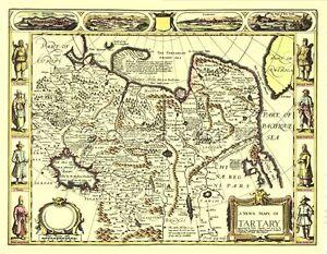 FULL SIZE Print 17c Old Map UNIQUE GIFT IDEA! Roman Empire Replica John Speed