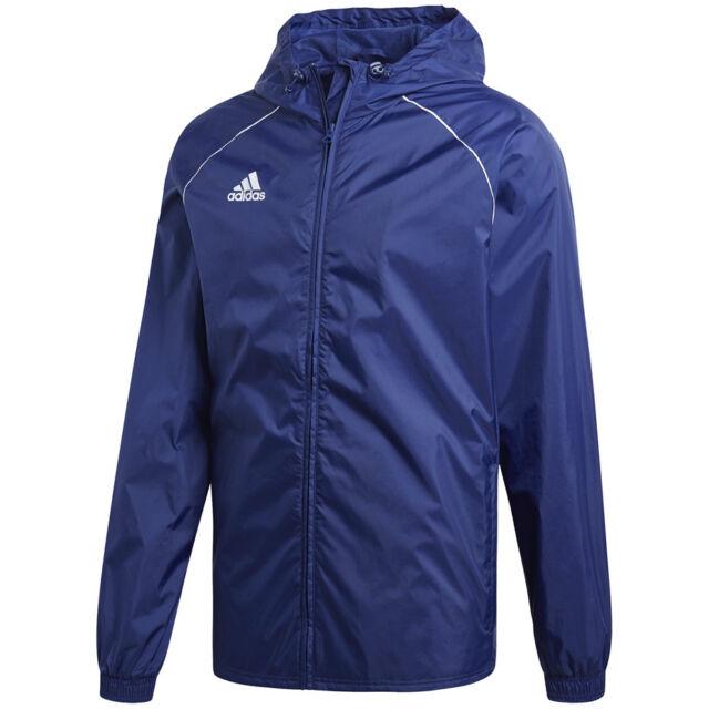 d64c14644c87 adidas Core 15 Rain Jacket Slicker Kids Blue 152 for sale online