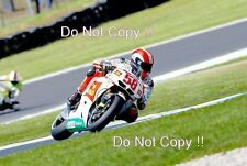 Marco Simoncelli San Carlo Honda Gresini Moto GP Australia 2010 Photograph 4