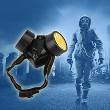 New Emergency Survival Safe Respiratory Gas Mask With 2 Dual Protect Filter FE