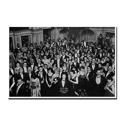 Plaque en m/étal personnalis/ée The Shining The Overlook Hotel 20,3 x 30,5 cm