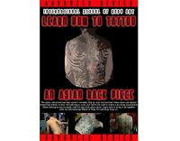 Learn How To Tattoo Asian Back Piece Dvd Video Guide Lesson Supply (6+ Hours)
