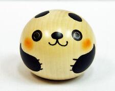 Usaburo Kokeshi Japanese Wooden Doll 9-93-3 Yura Koro Panda (Panda)