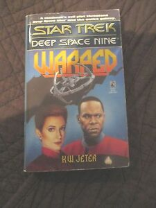 STAR-TREK-DEEP-SPACE-NINE-PAPERBACK-BOOK-WARPED
