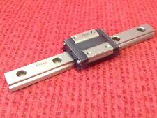 THK Linear Slide Bearing 16.9cm Long Rail with 2 of RSR7Z Blocks
