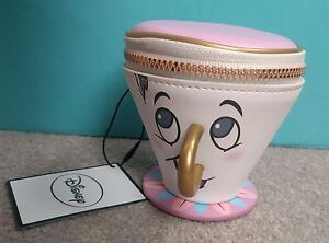 beauty and the beast chip coin purse 3d cup trinket. Black Bedroom Furniture Sets. Home Design Ideas