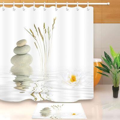 Dragon chinois tissu imperméable rideau de douche Liner Set salle de bain accessoires