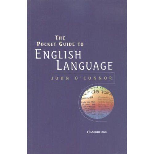 Pocket Guide to English Language O'Connor Cambridge U. 9780521529914 Cond=LN:NSD