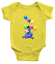 Infant-Baby-Boy-Girl-Rib-Bodysuit-Clothes-Gift-Eeyore-Gloomy-Donkey-Balloons thumbnail 12