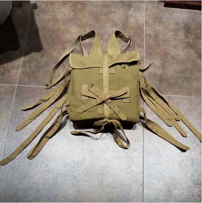 WWII JAPANESE ARMY 1940 SOLDIER BACKPACK JAPAN MILITARY WAR CANVAS BAG