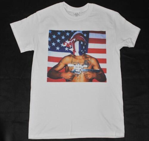 Prodigy from Mobb Deep White T-Shirt S-3XL hip hop rap trap 2pac biggie wu-tang