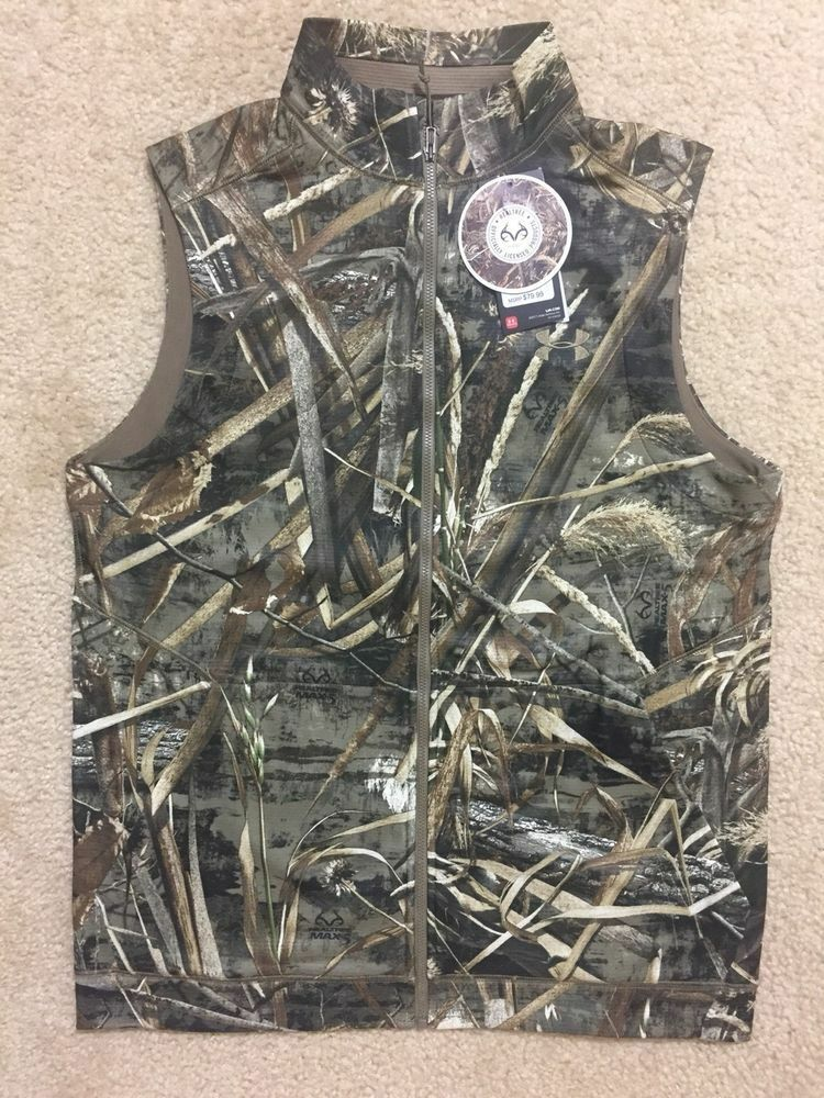 Under Armour 1299250 Realtree MD MAX5 Men Vest NEW Größe MD Realtree 409079