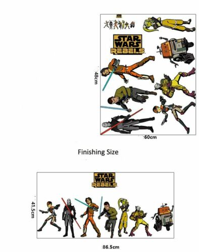Star Wars Wall Art Nursery Decal Stickers Removable Boys Home Decor Mural Gift