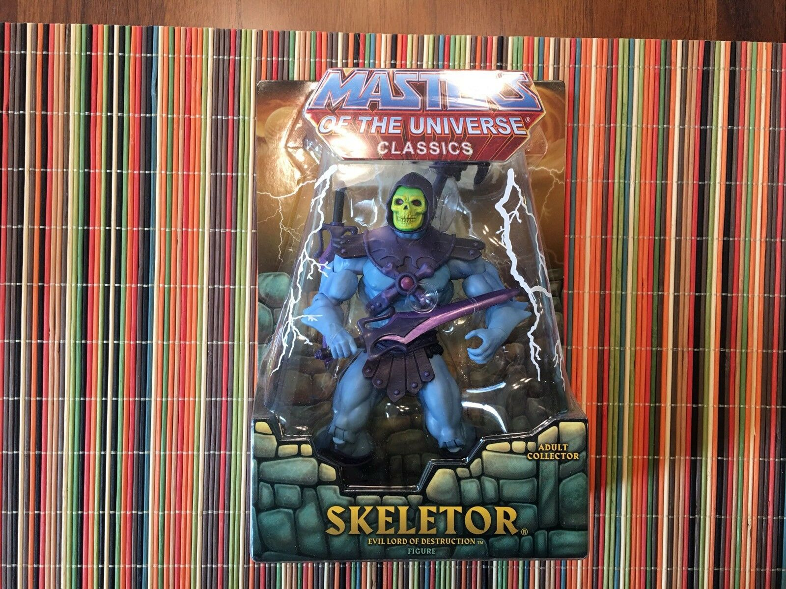 Masters Of The Universe Classics Skeletor Figure 1st Edition He-man MOTUC