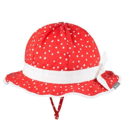 pure pure Baby und Kinder Sommer-Mütze mit UV-Schutz reine Bio-Baumwolle