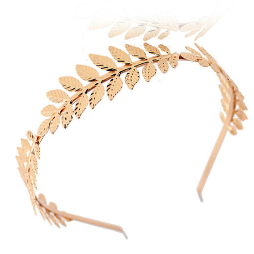 Women Hair Accessories Laurel Leaf Branch Headband Crown Leaves Hair Band ZP