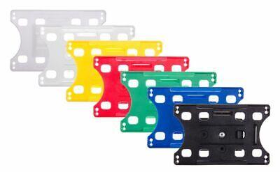 Kartenhalter mit offener Präsentationsfläche für bis zu 5 Karten 86 mm x 54 mm