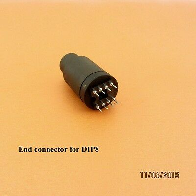 End connector DIP8