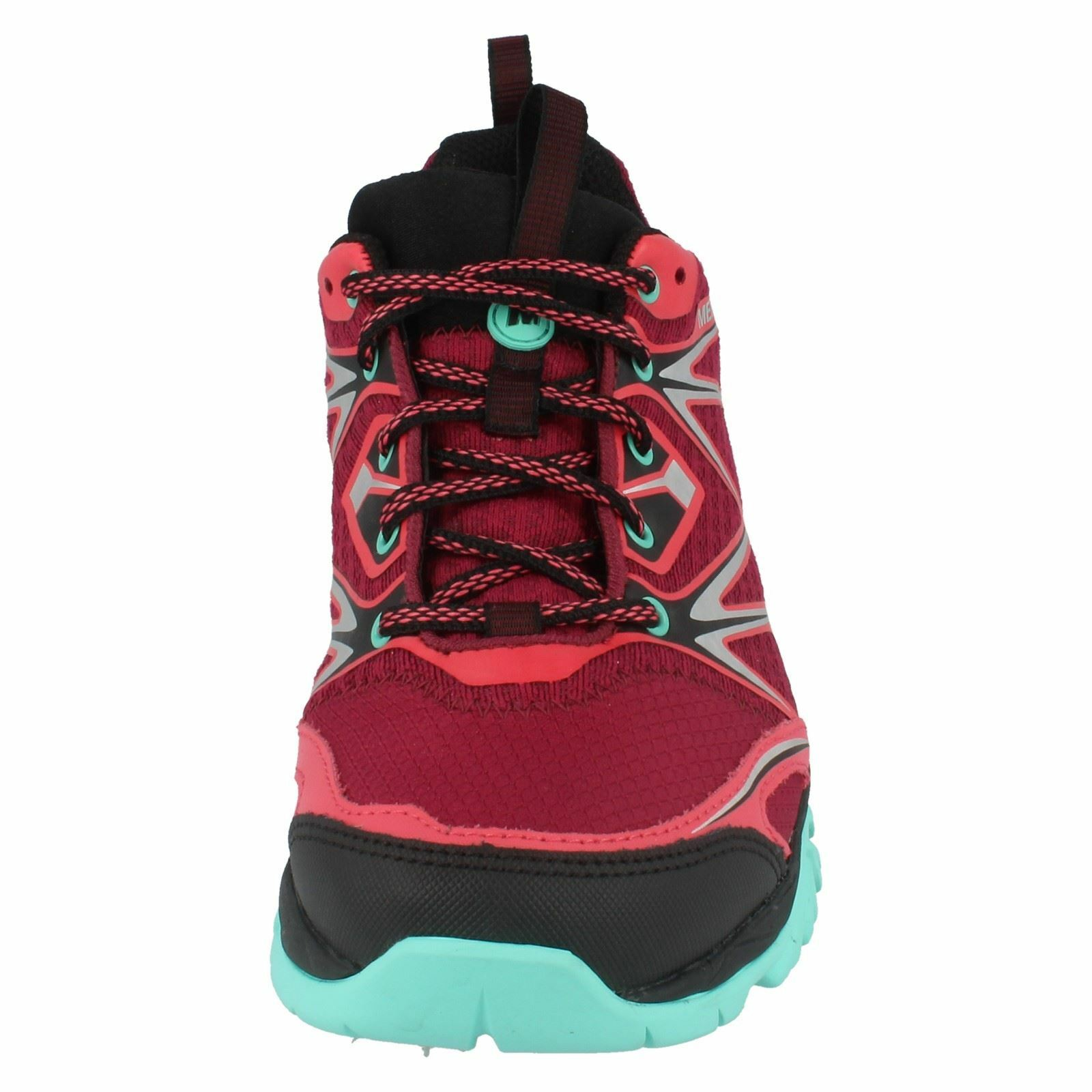MERRELL CAPRA LACE BOLT LADIES GORE TEX LACE CAPRA UP WATERPROOF WALKING TRAINERS Schuhe 602519