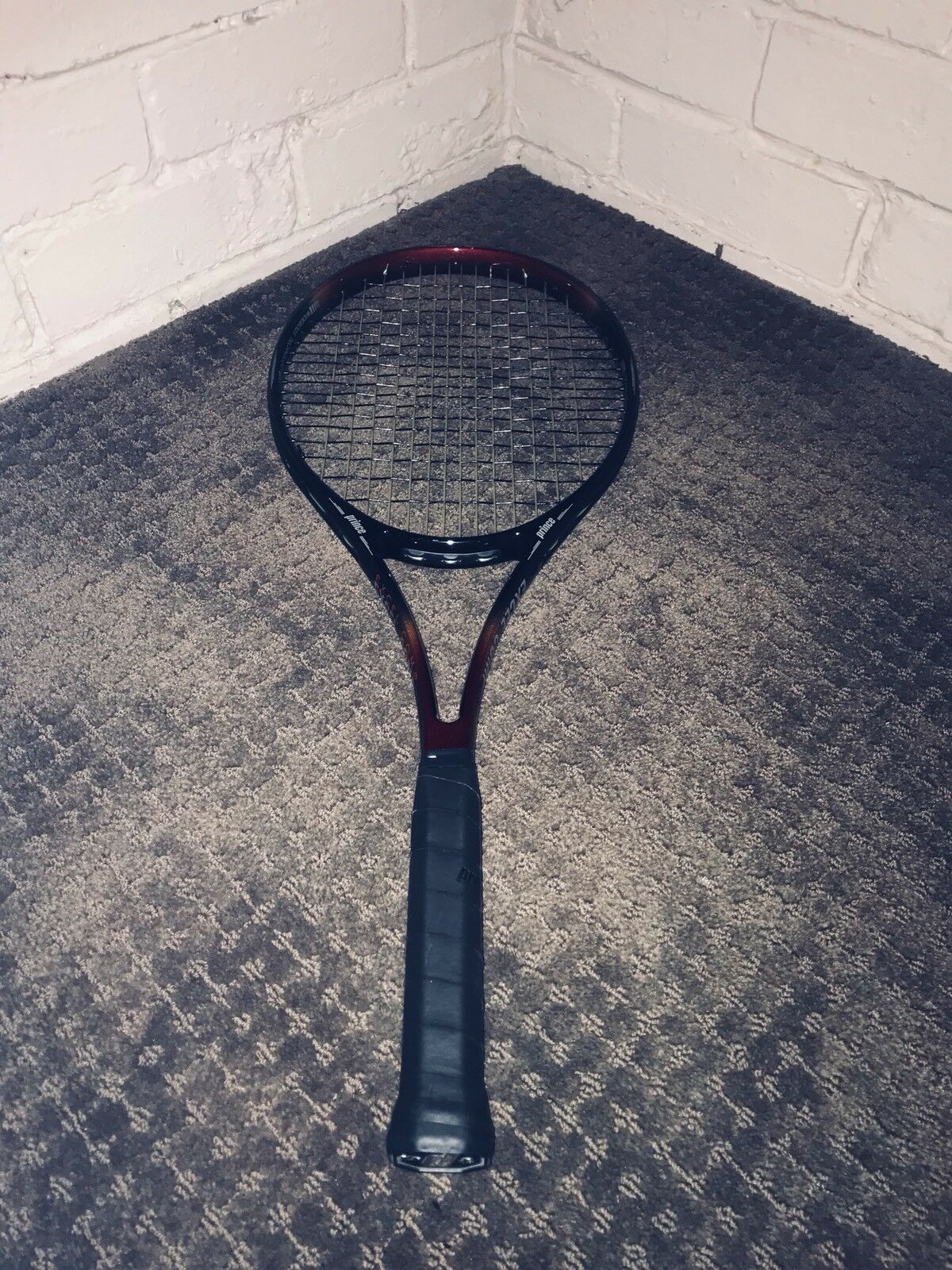 Prince Excel Comp-Near Flawless Condition-Grip4-New Hybrid Stringbed