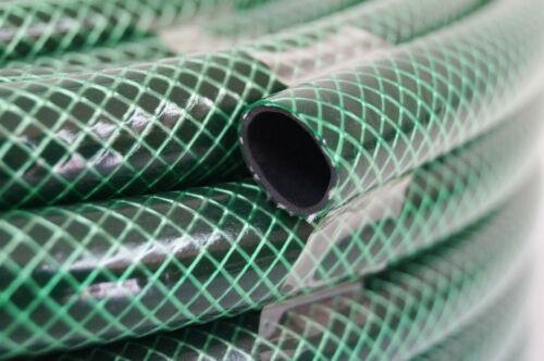 """Gartenschlauch 1//2/"""" 50m grün 3-lagig Wasserschlauch Qualitätsschlauch"""