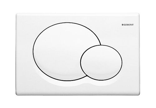 Geberit Sigma 01 115.770.11.5 Dual Flush Plate White Alpine Finish WC Toilet