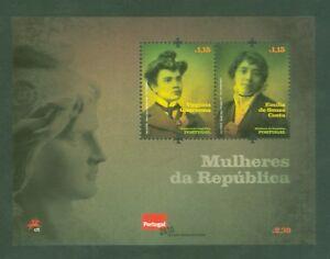Portugal-2009-Feminismus-Feministinnen-Frauenrechte-Bl-290-postfrisch